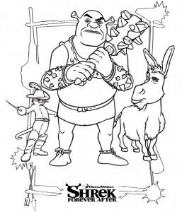 coloring page Shrek 4 Forever After (3)
