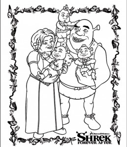 coloring page Shrek 4 Forever After (7)