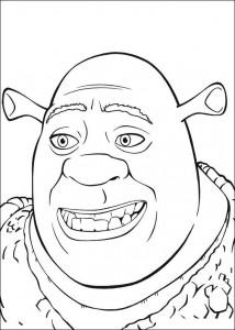 kleurplaat Shrek (8)