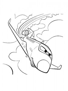 coloring page Siddeley