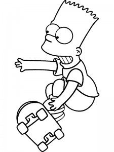 coloring page Simpsons (15)