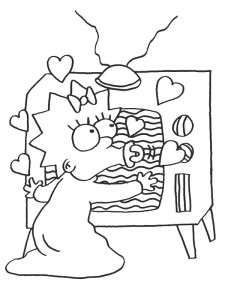 coloring page Simpsons (18)