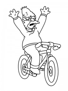 coloring page Simpsons (20)