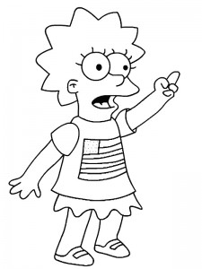 coloring page Simpsons (23)