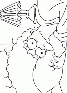 coloring page Simpsons (31)