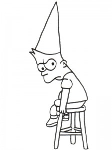 coloring page Simpsons (6)
