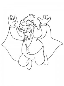 coloring page Simpsons (8)