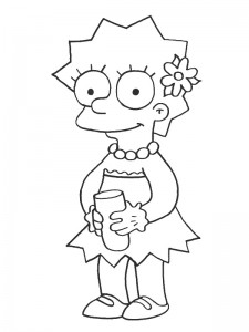 coloring page Simpsons (9)