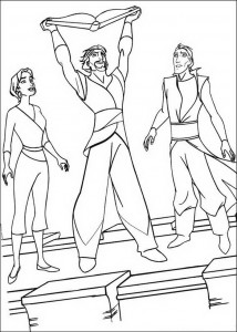 coloring page Sinbad (1)