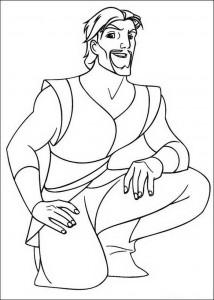 coloring page Sinbad (2)