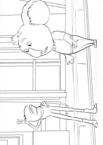coloring page Sing (11)