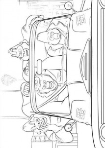 coloring page Sing (14)