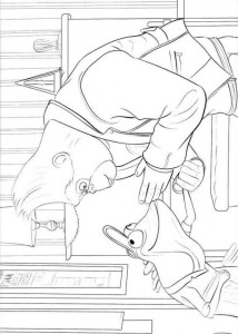 coloring page Sing (15)