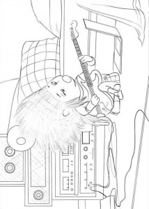 coloring page Sing (18)