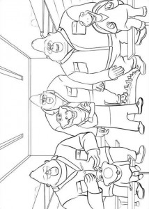 coloring page Sing (6)