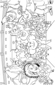 coloring page Sing film