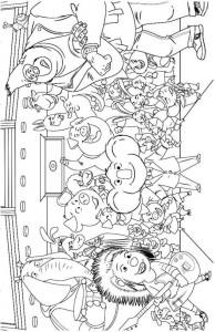 målarbok Sjung film