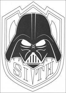 pagina da colorare Sith