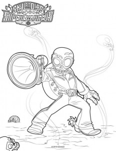 coloring page Skylander superchargers (2)