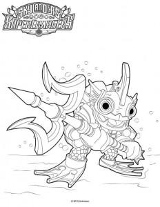 coloring page Skylander superchargers (3)