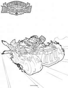 coloring page Skylander superchargers (4)