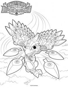 coloring page Skylander superchargers (7)