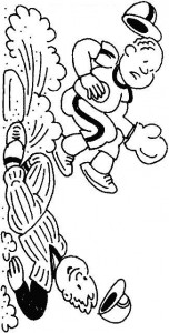 coloring page Sliding