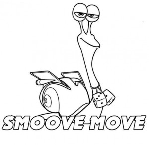 målarbok Smoove Move