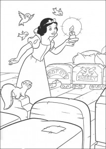 coloring page Snow White (8)
