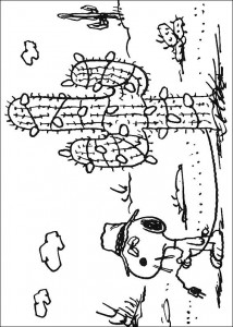 coloriage Snoopy (10)