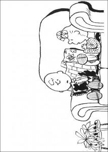 kleurplaat Snoopy (11)