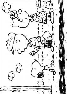kleurplaat Snoopy (15)