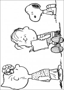 coloriage Snoopy (16)