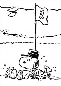 kleurplaat Snoopy (18)