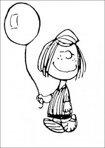 kleurplaat Snoopy (23)