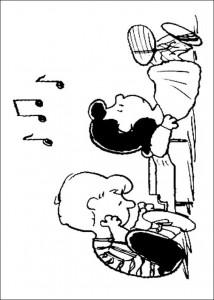 kleurplaat Snoopy (25)