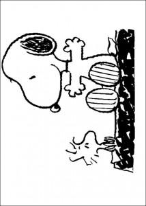kleurplaat Snoopy (26)