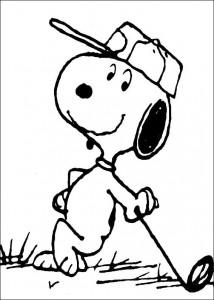 kleurplaat Snoopy (9)