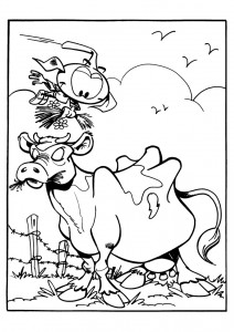 coloring page Snorkler (15)