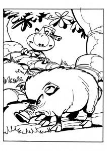 Disegno da colorare Snorkels (2)