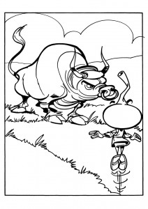 coloring page Snorkler (23)