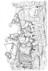 målarbok Soldater (1)