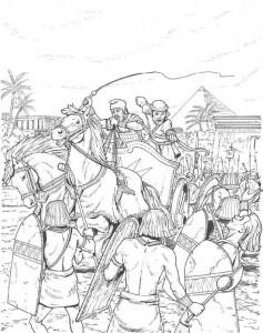 målarbok Soldater