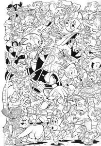 kleurplaat Sonic X (16)