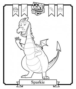 coloring page Sparkie