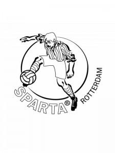 Dibujo para colorear Esparta