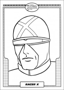 coloring page Speed ​​racer (1)