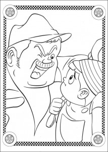 coloring page Speed racer (10)