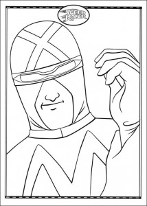 coloring page Speed racer (13)