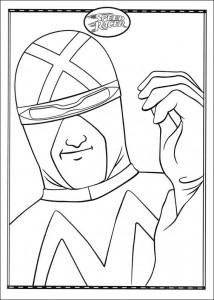 Dibujo para colorear Speed Racer (13)